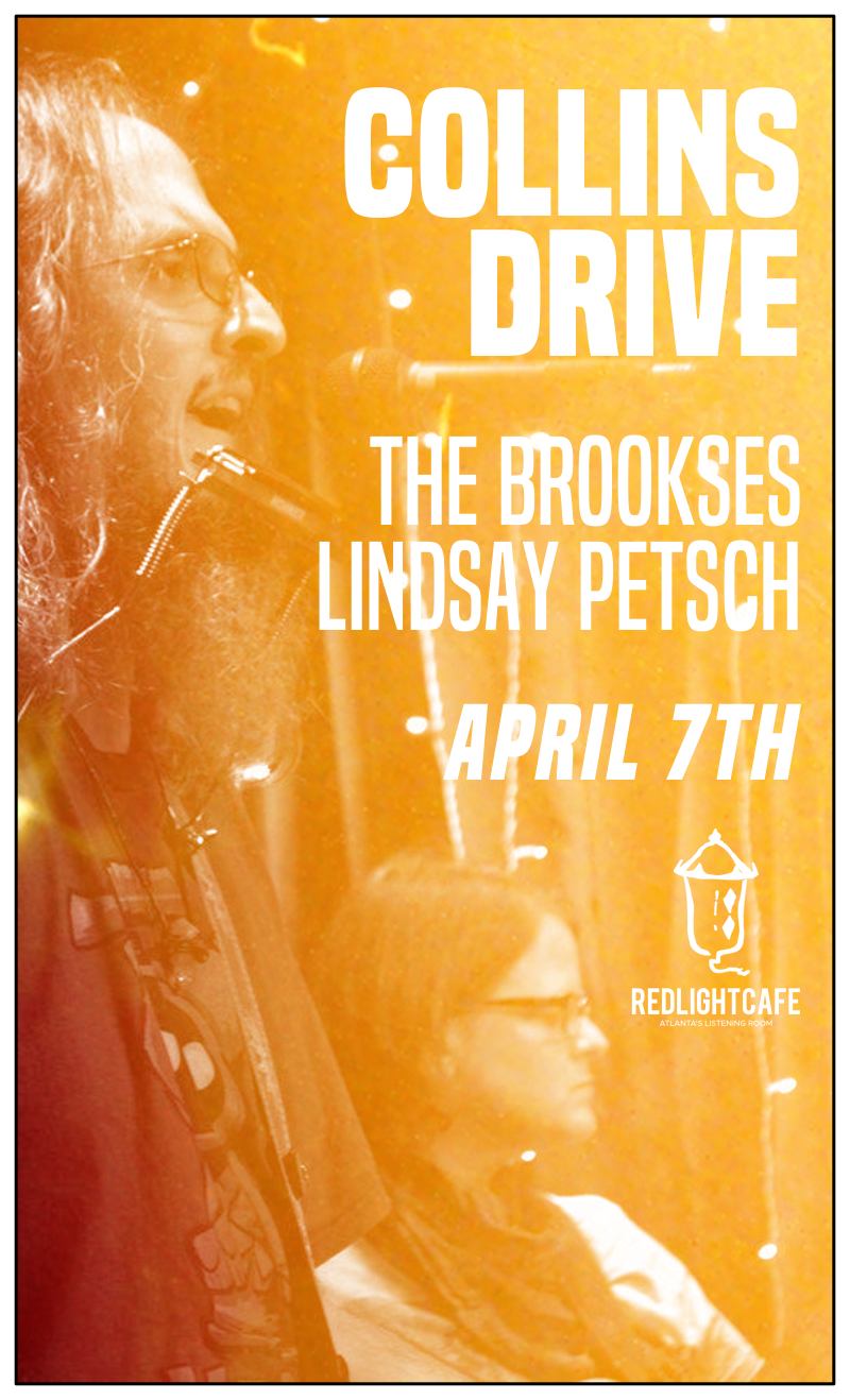 Collins Drive + The Brookses w/ special guest Emily Backus — April 7, 2018 — Red Light Café, Atlanta, GA