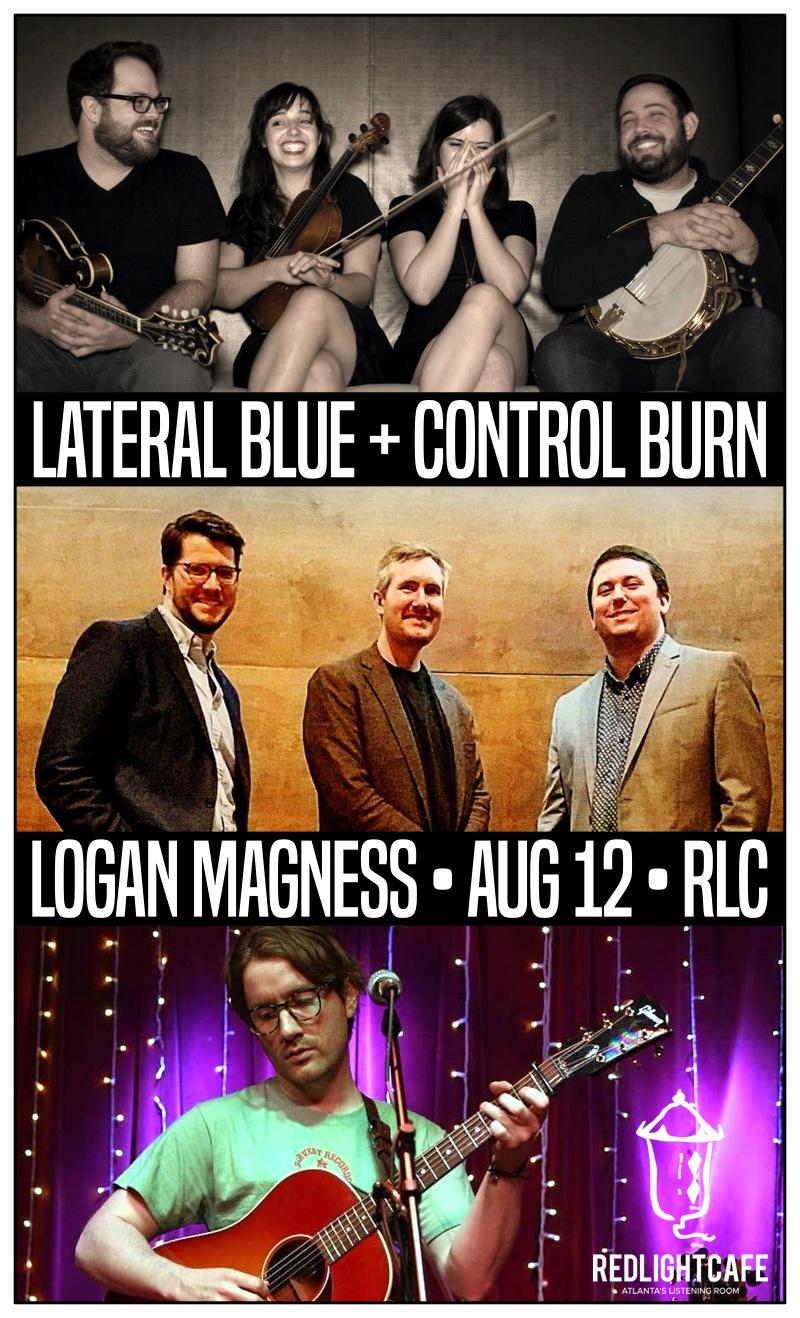 Lateral Blue + Control Burn w/ Logan Magness — August 12, 2018 — Red Light Café, Atlanta, GA