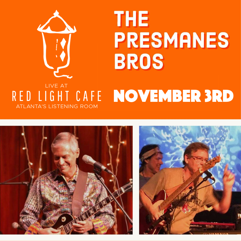 The Presmanes Brothers — November 3, 2018 — Red Light Café, Atlanta, GA