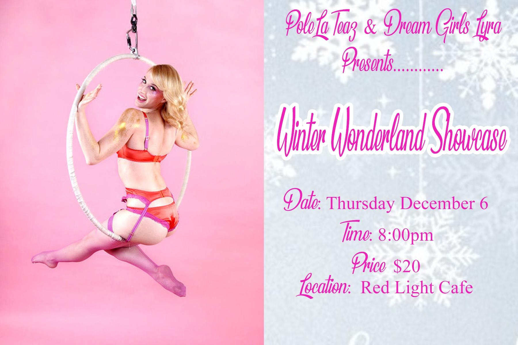 Winter Wonderland Lyra & Sensual Dance Holiday Showcase — December 6, 2018 — Red Light Café, Atlanta, GA