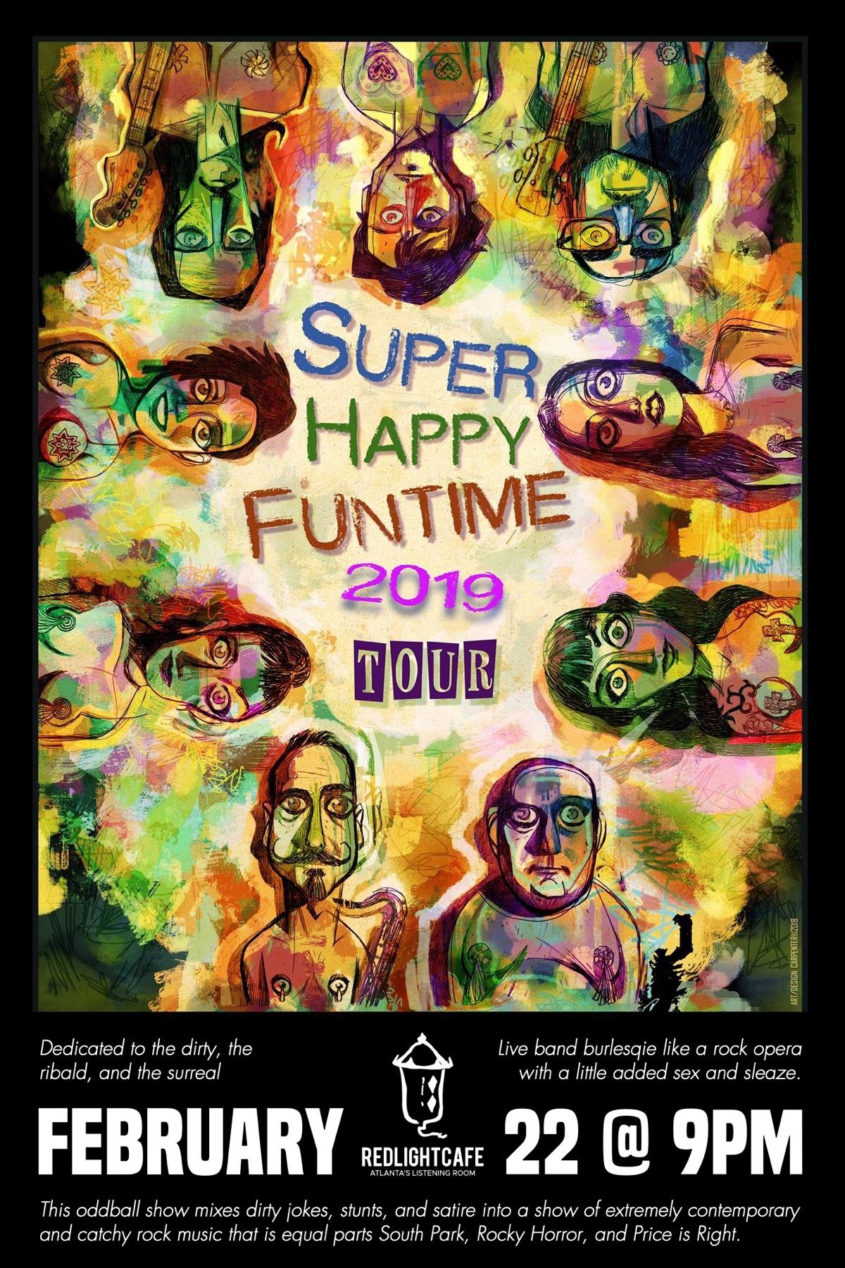 Super Happy Funtime! — February 22, 2019 — Red Light Café, Atlanta, GA