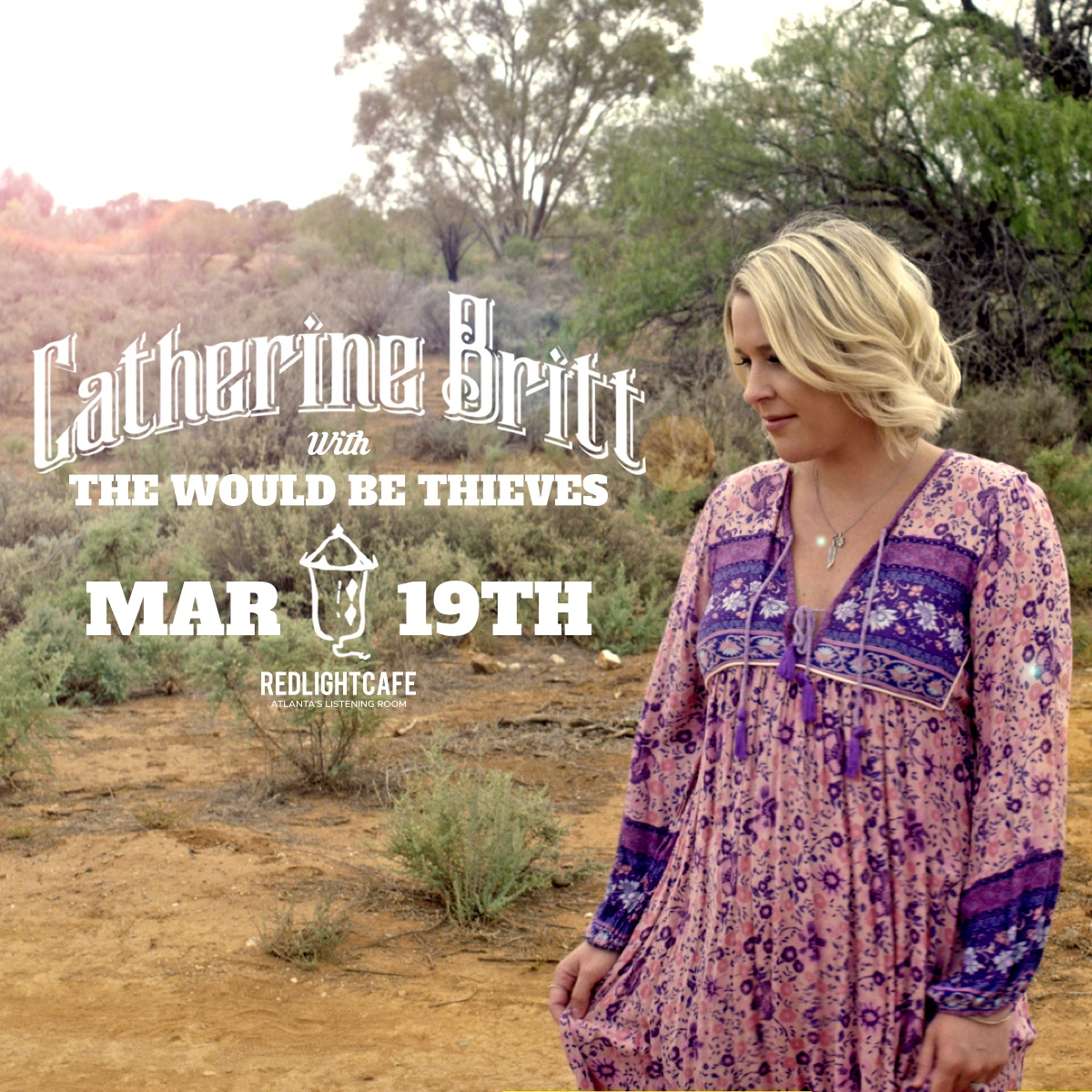 Catherine Britt LIVE w/ The Would Be Thieves — March 19, 2019 — Red Light Café, Atlanta, GA