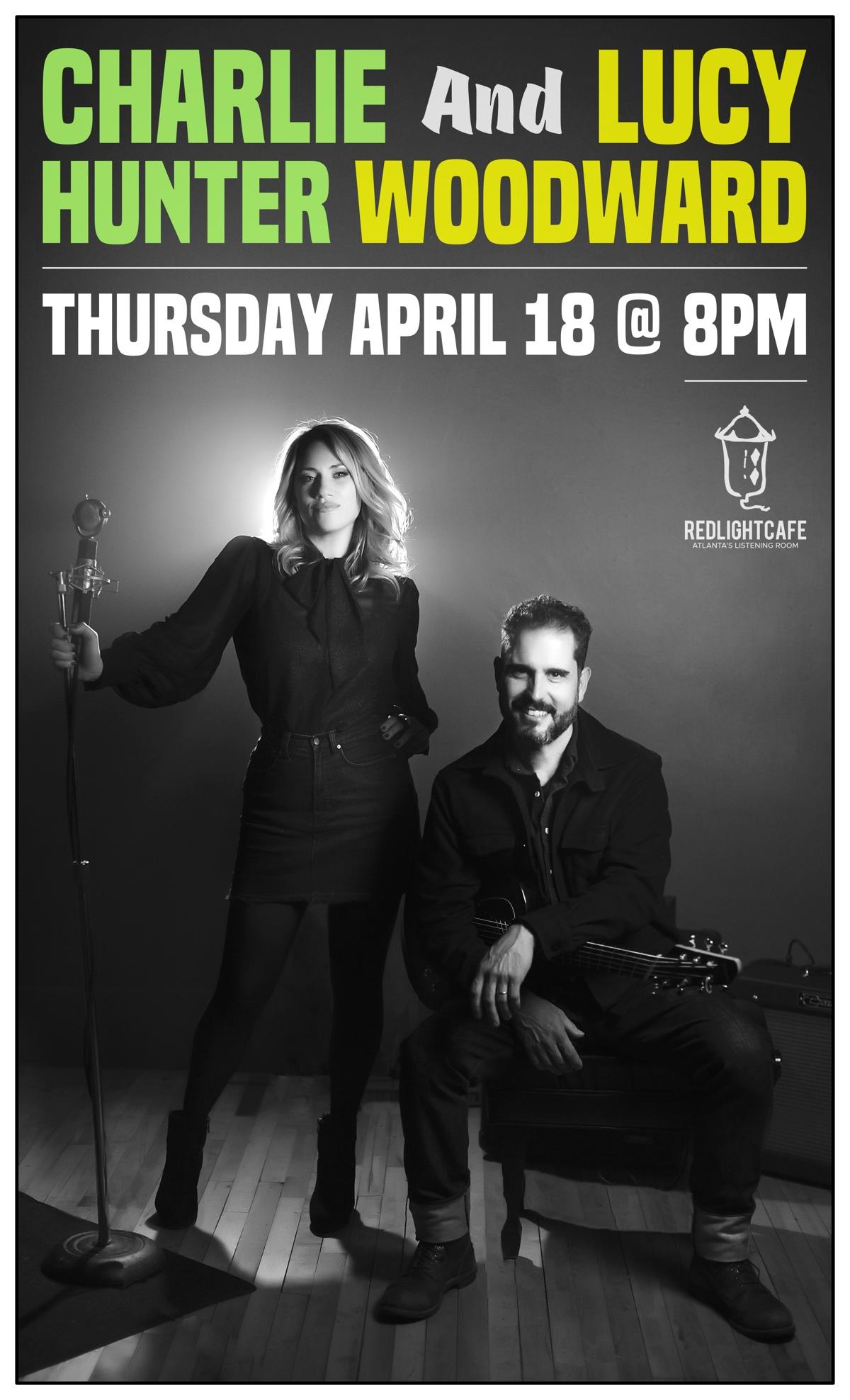 Charlie Hunter & Lucy Woodward — April 18, 2019 — Red Light Café, Atlanta, GA