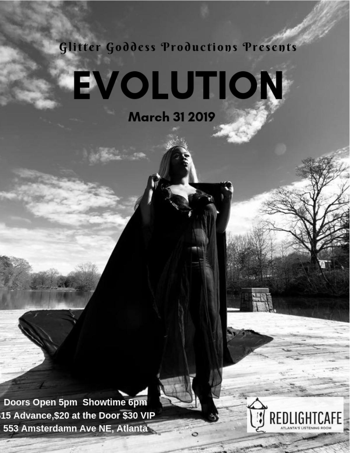 Evolution (A Burlesque Journey) — March 31, 2019 — Red Light Café, Atlanta, GA