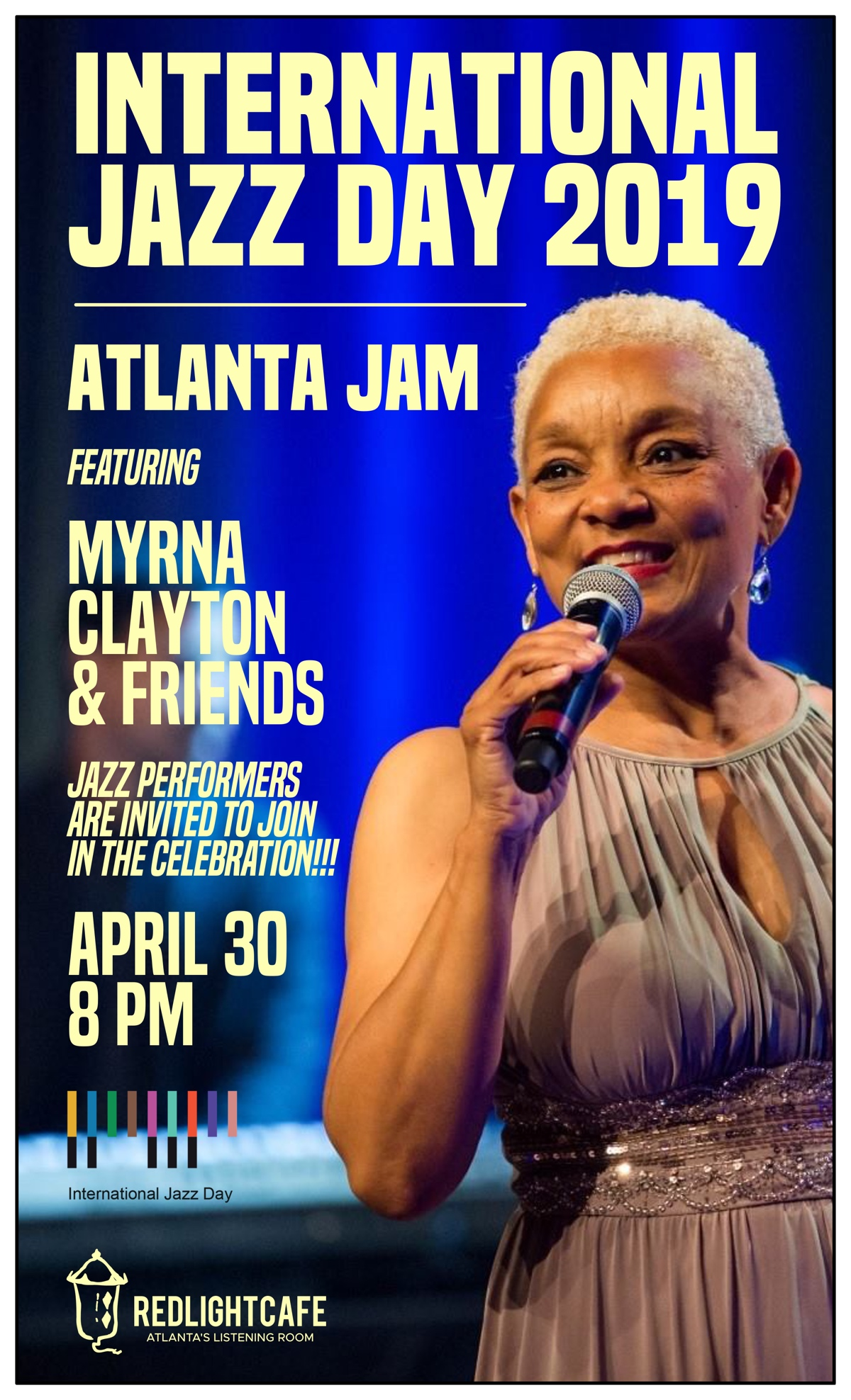 International Jazz Day 2019: Atlanta Jam — April 30, 2019 — Red Light Café, Atlanta, GA