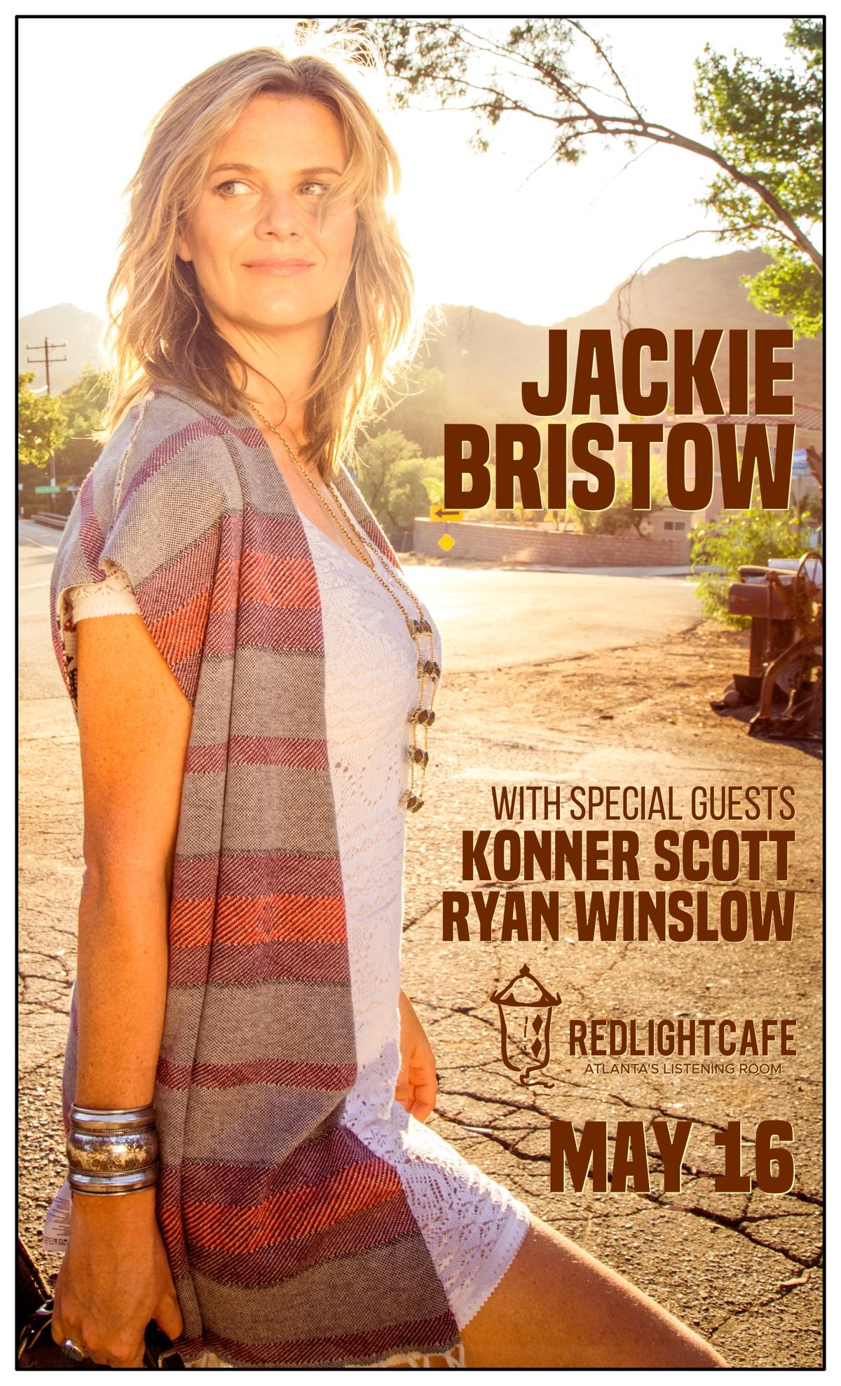 Jackie Bristow w/ Konner Scott + Ryan Winslow — May 16, 2019 — Red Light Café, Atlanta, GA