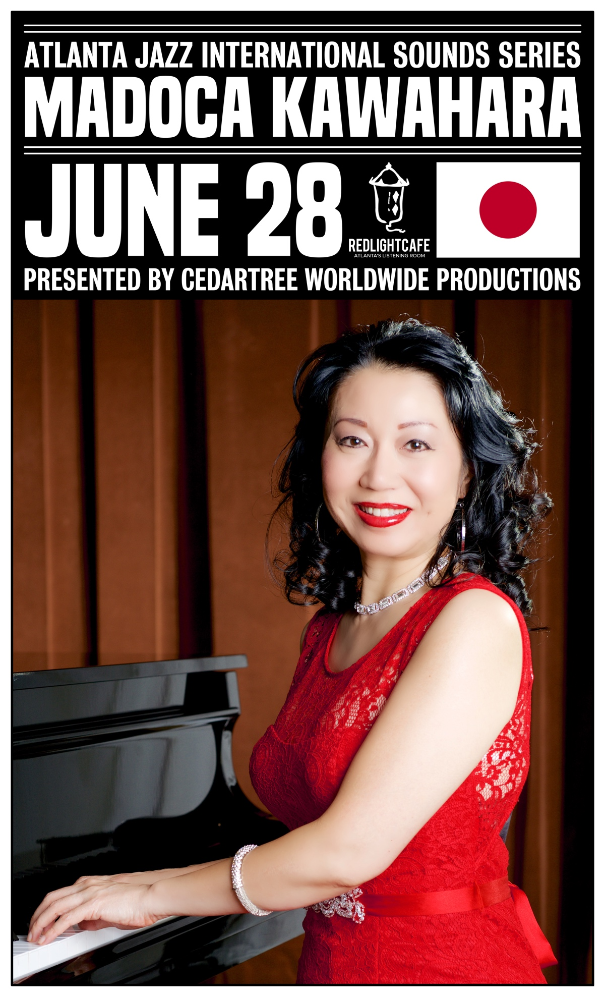 Atlanta Jazz International Sounds Series: Madoca Kawahara — June 28, 2019 — Red Light Café, Atlanta, GA