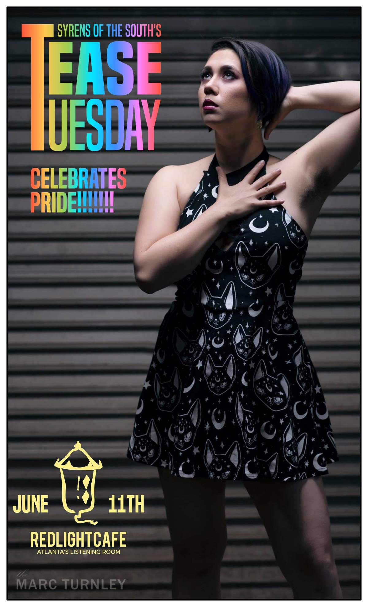 Tease Tuesday Burlesque Celebrates PRIDE — June 11, 2019 — Red Light Café, Atlanta, GA
