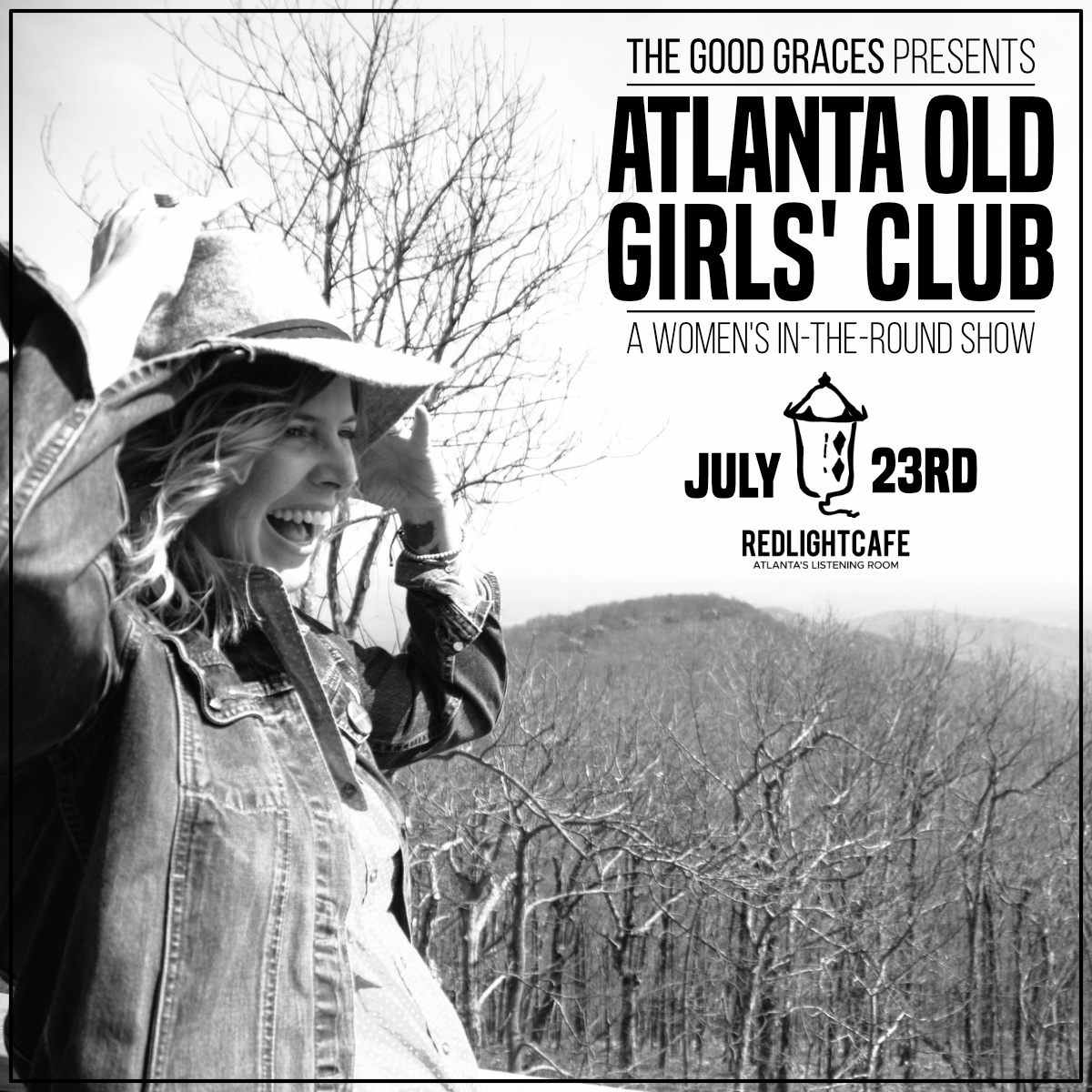 The Good Graces presents Atlanta Old Girls' Club: A Women's In-The-Round Show — July 23, 2019 — Red Light Café, Atlanta, GA