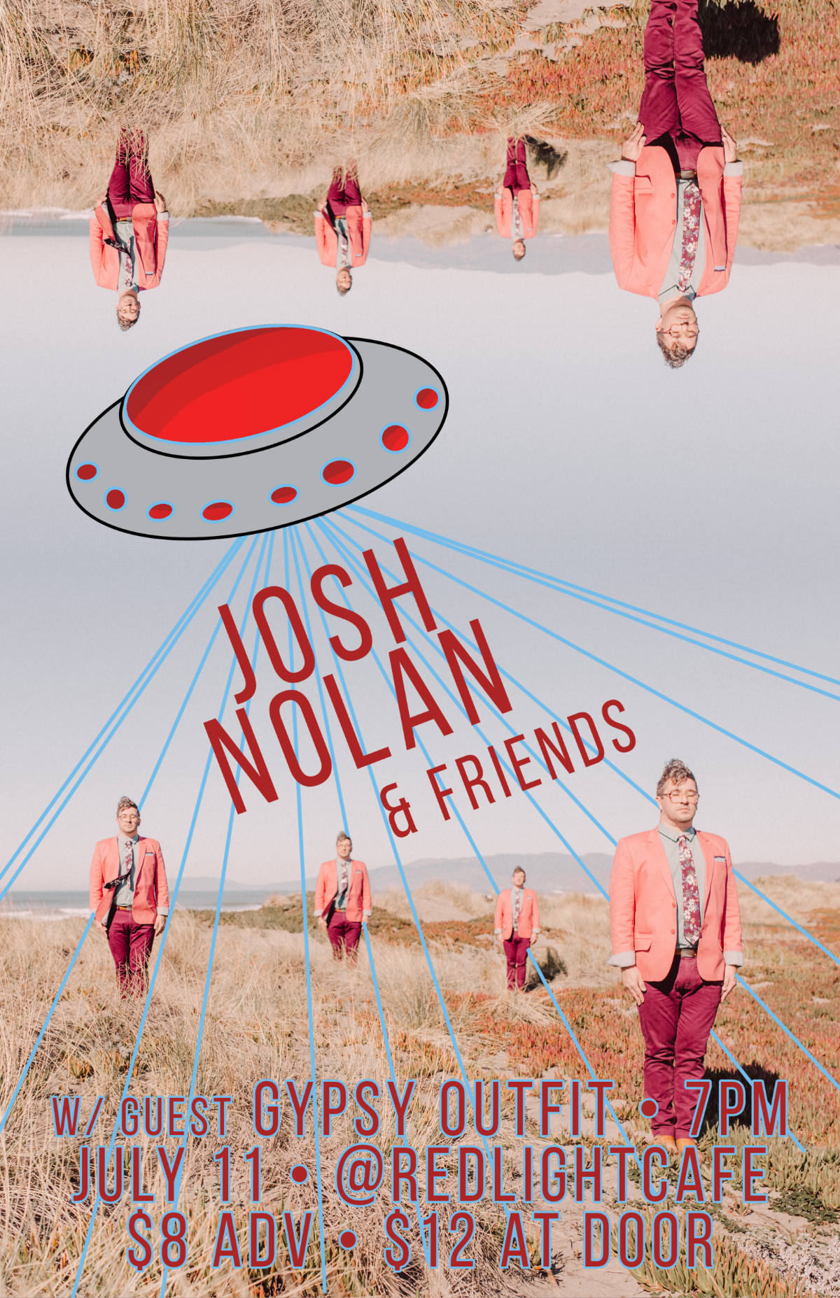 Josh Nolan (Band) w/ Gypsy Outfit — July 11, 2019 — Red Light Café, Atlanta, GA