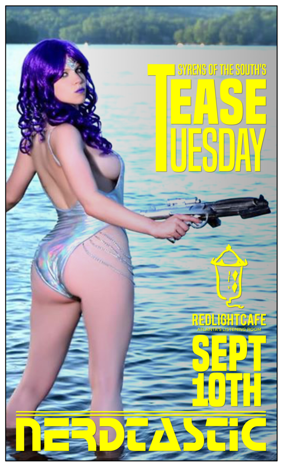 Tease Tuesday Burlesque Nerdtastic — September 10, 2019 — Red Light Café, Atlanta, GA