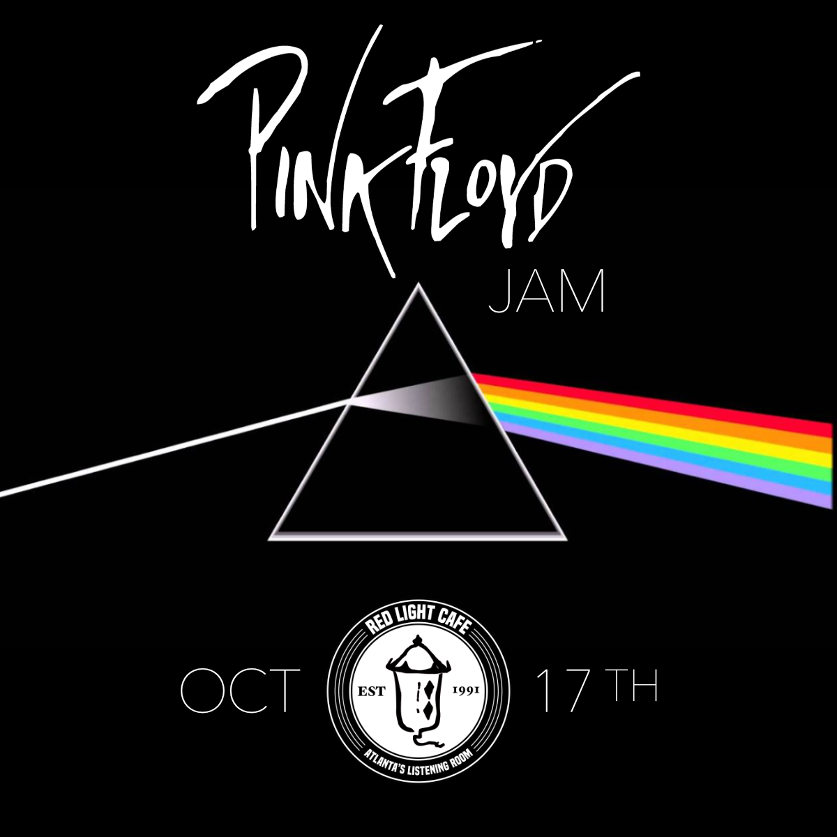 Pink Floyd Jam w/ The BadAsh Allstar Team — October 17, 2019 — Red Light Café, Atlanta, GA