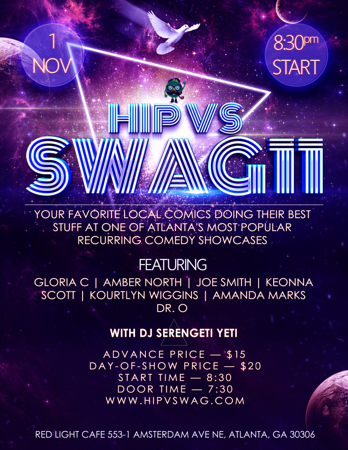 Hip v Swag 11 — November 1, 2019 — Red Light Café, Atlanta, GA