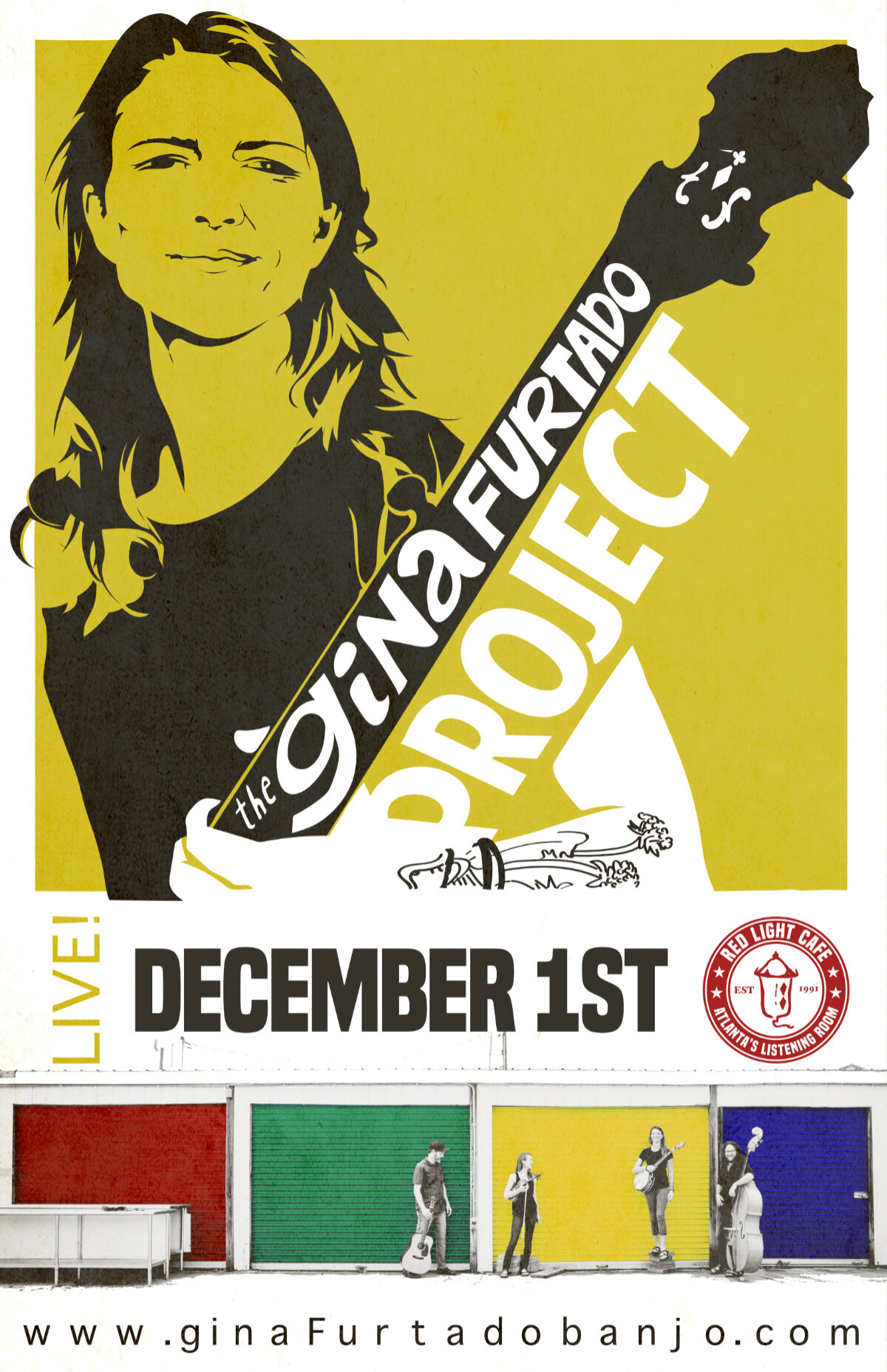 Gina Furtado Project LIVE — December 1, 2019 — Red Light Café, Atlanta, GA