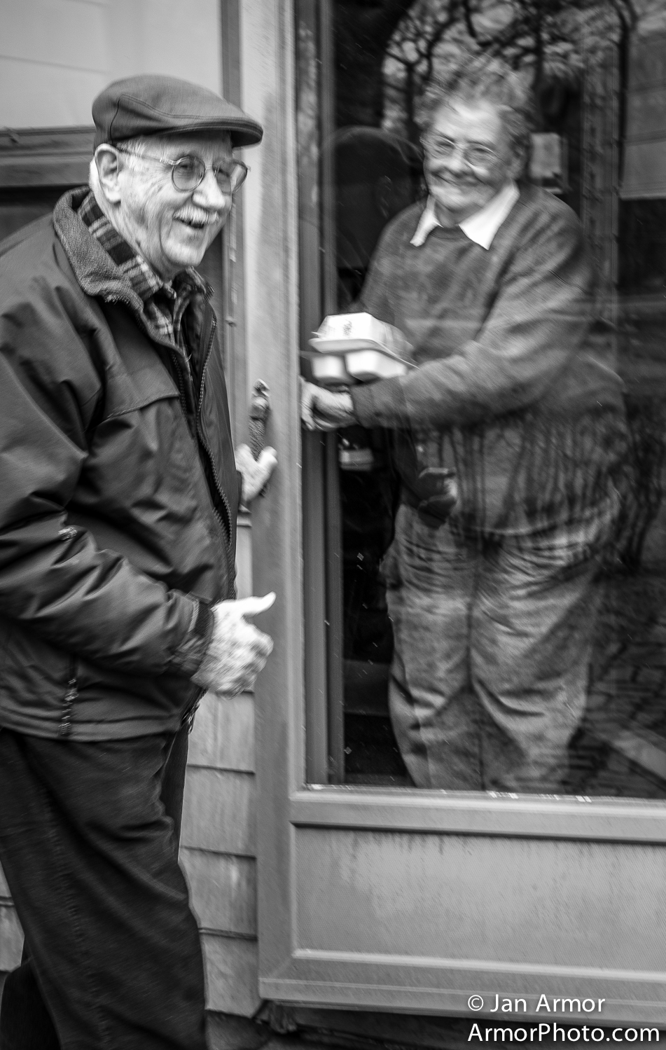 John delivers Meals On Wheels  Door to Door