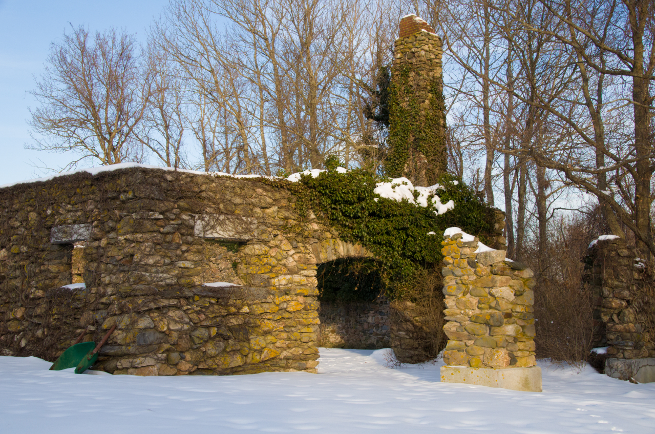 Stone Structure in Winter.JPG