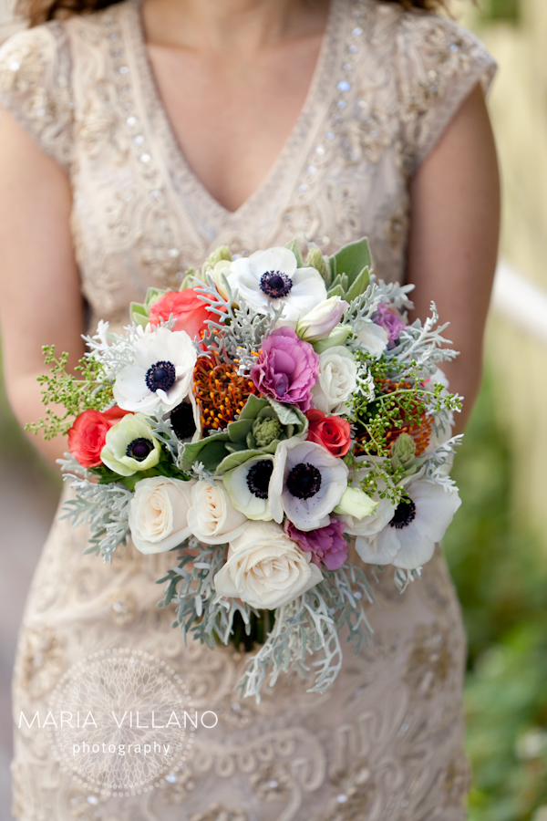 Flowers by EV Floral wedding at Cindy's Backstreet Kitchen
