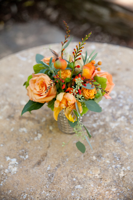 perfect fall wedding flowers