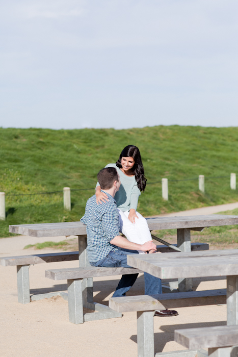 cute crissy field engagment session