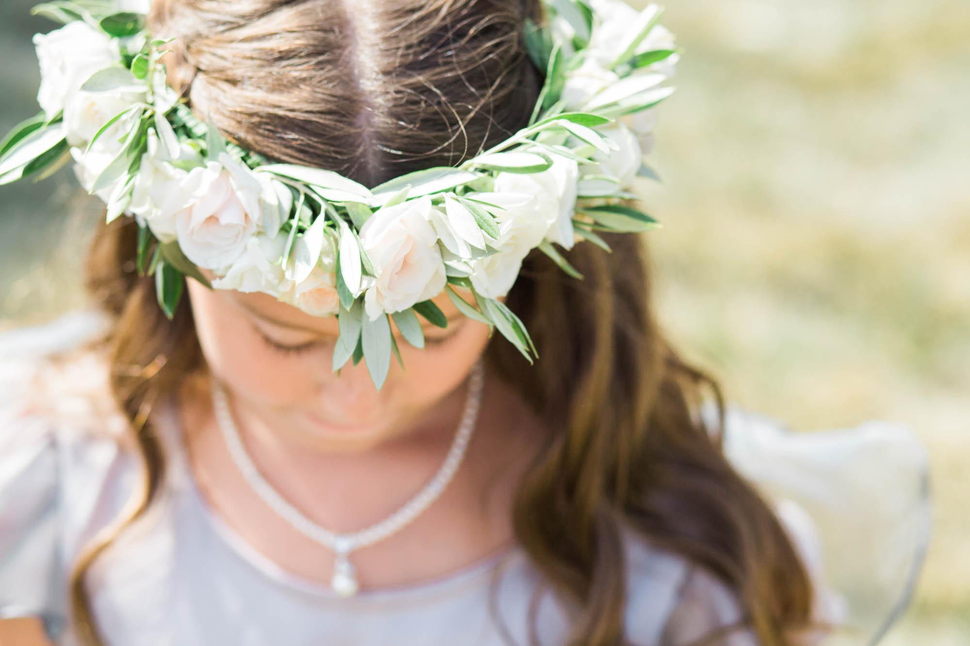 EV FLORAL FLOWER CROWN NAPA WEDDING