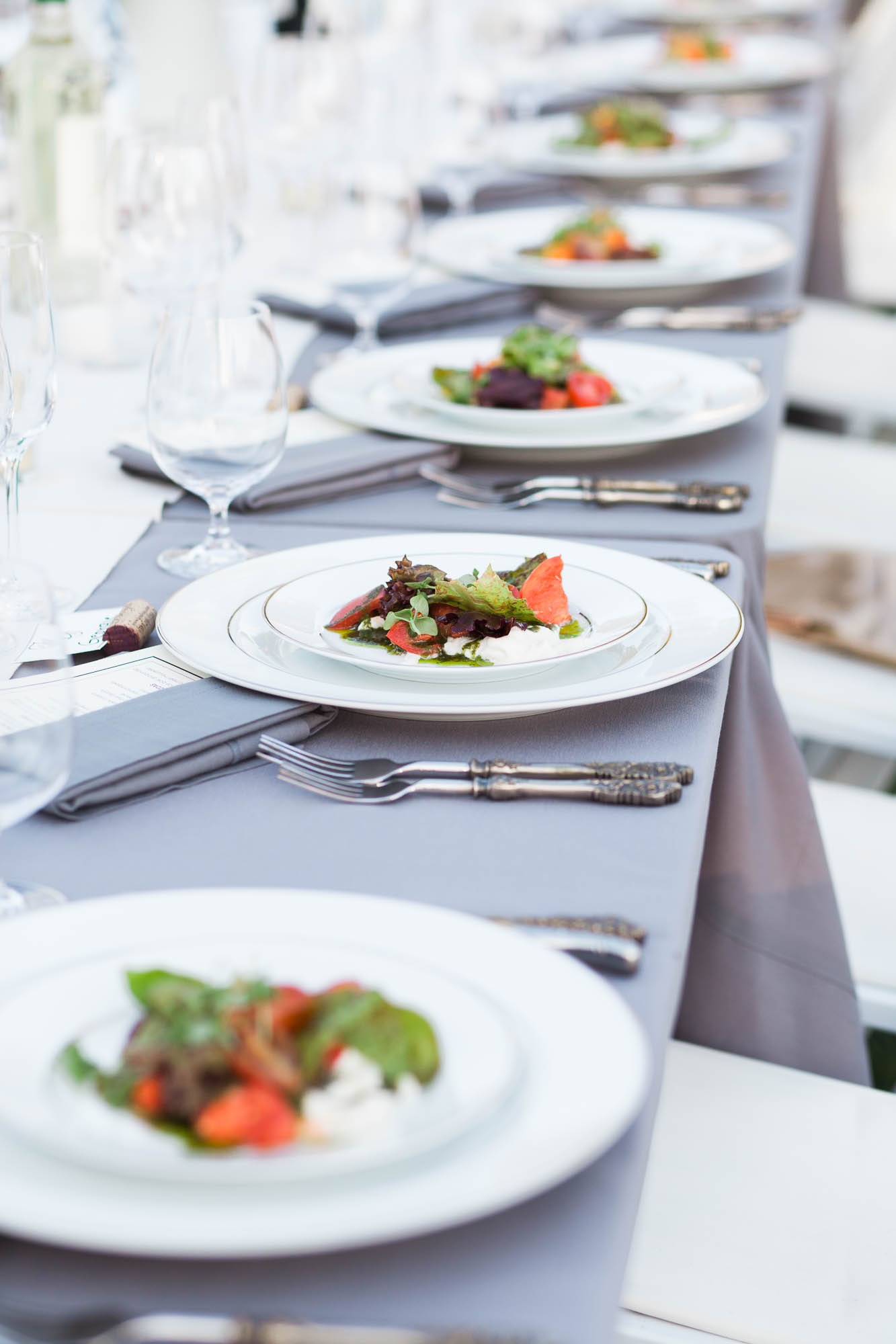 WINERY CHEFS WEDDING CATERING MARIA VILLANO PHOTOGRAPHY