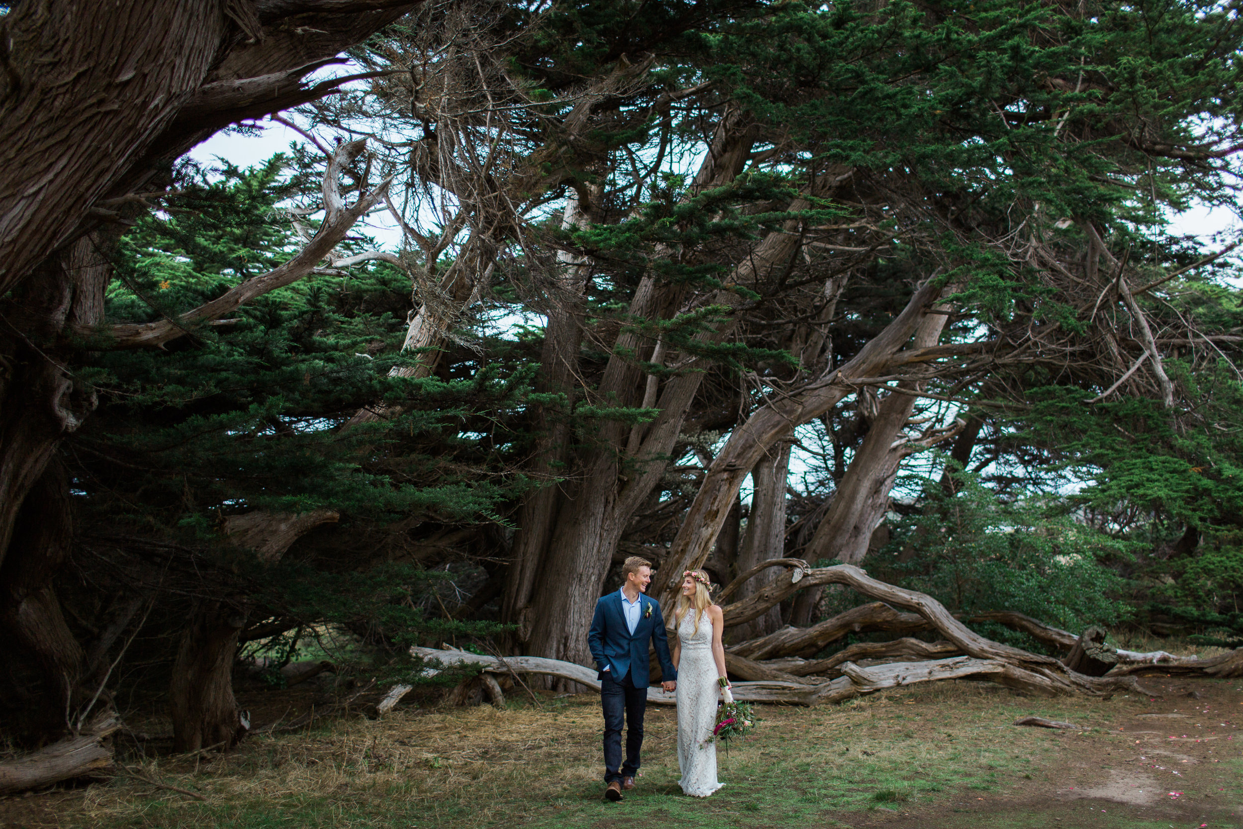 MENDOCINO ELOPEMENT AT STANFORD INN MARIA VILLANO