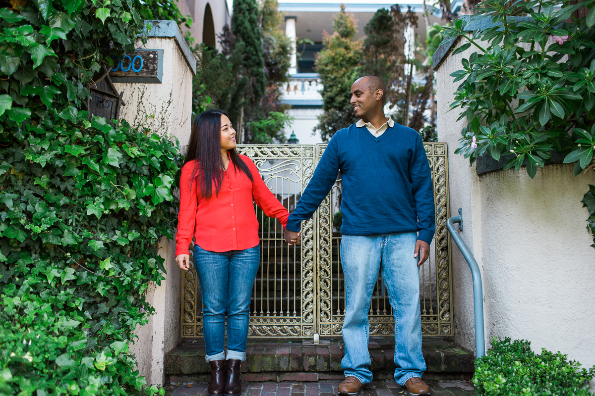 lombard street engagement session maria villano photography