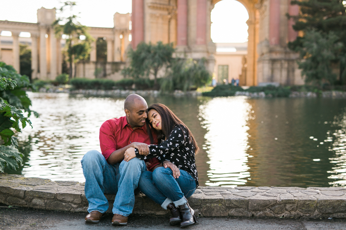 Lombard Streeet Palace of Fine Arts Engagement Session-18.jpg