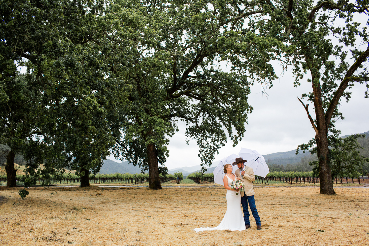 st helena wedding at private estate