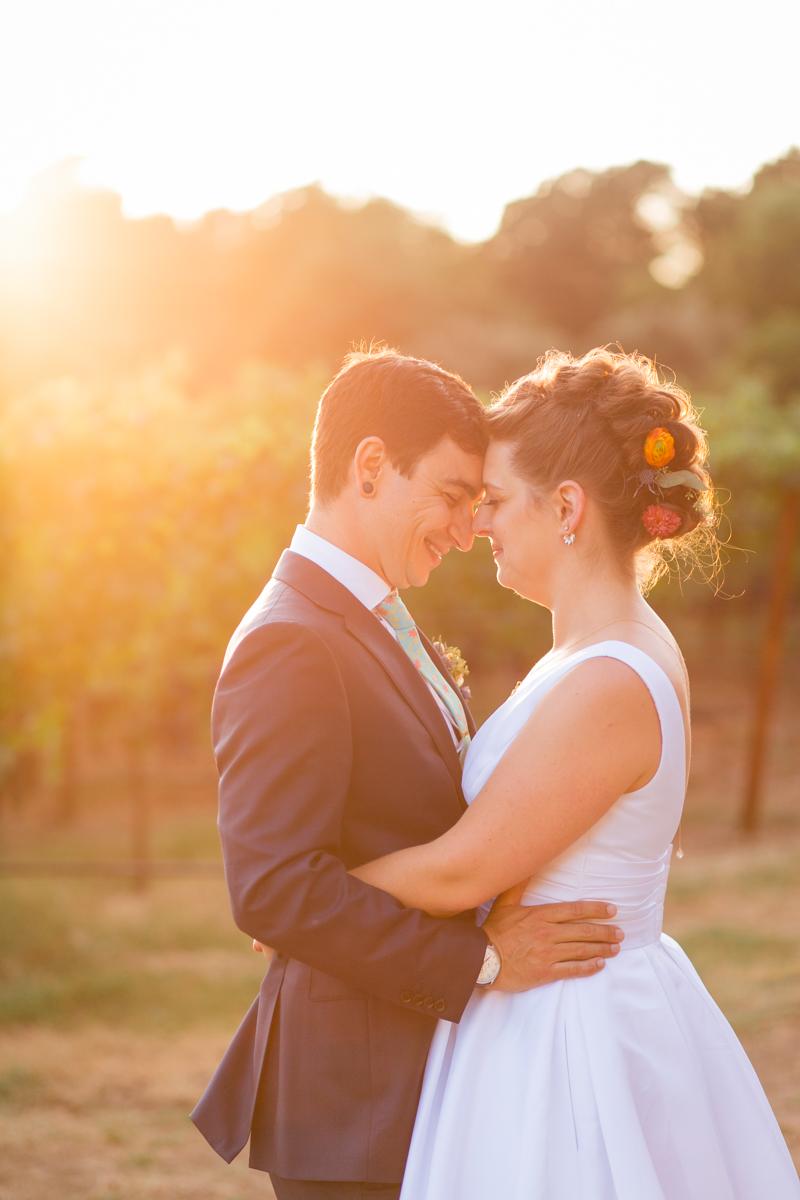 st. helena wedding at harvest inn
