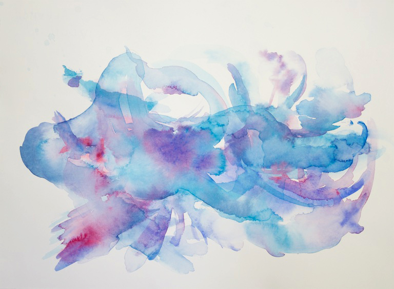 Holland, Ocean II, Watercolour, 20x16, $250, 2017.jpg