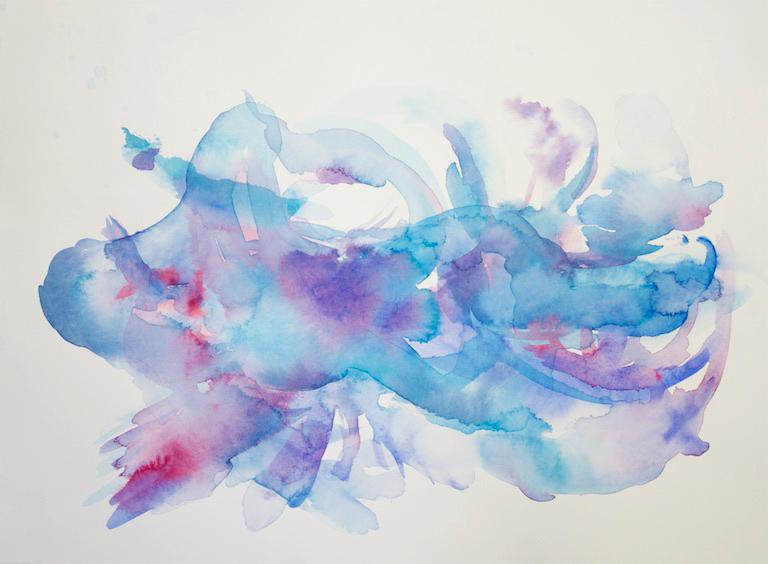 Holland, Ocean II, Watercolour, 20x16, $250, 2017.jpg