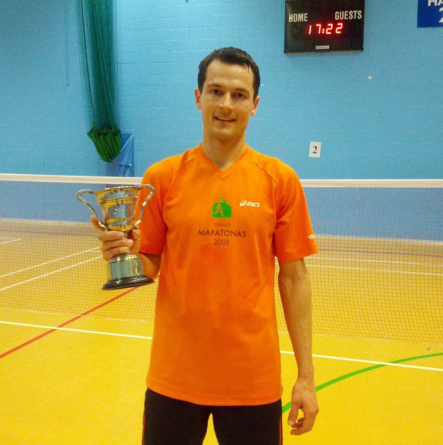 Mindaugas Dabasinskas: Mens singles winner