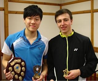 Tom Li and Kaylan Sutton-Ziaian U19 Champion and Runner-up