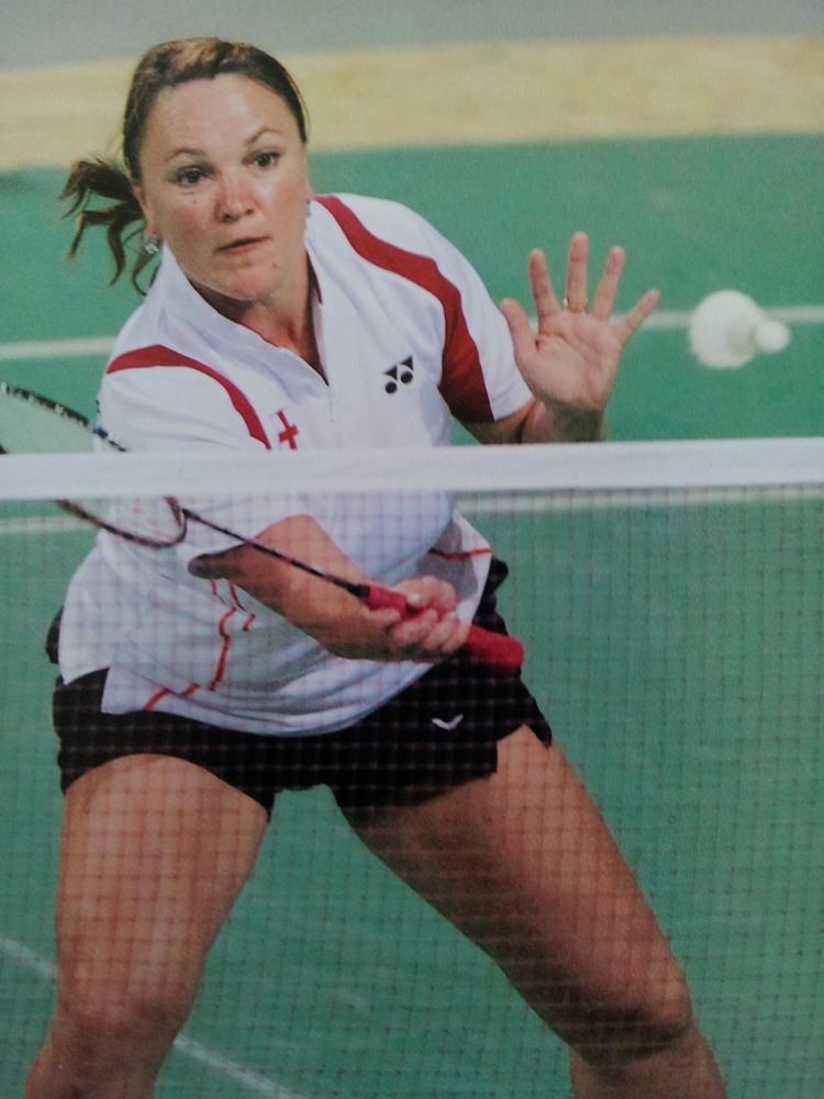 Olga Bryant representing England