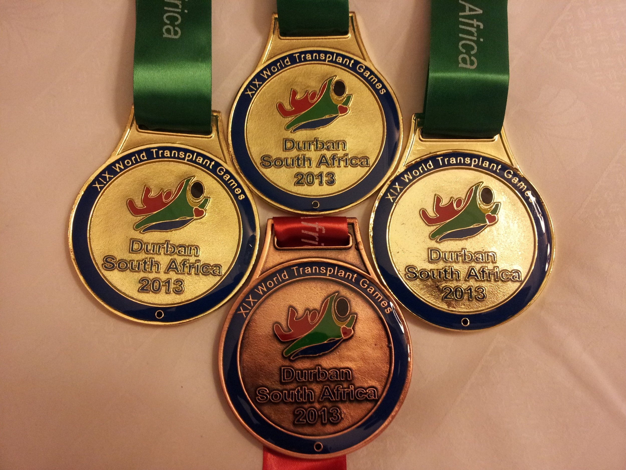 Three Golds and a Bronze...