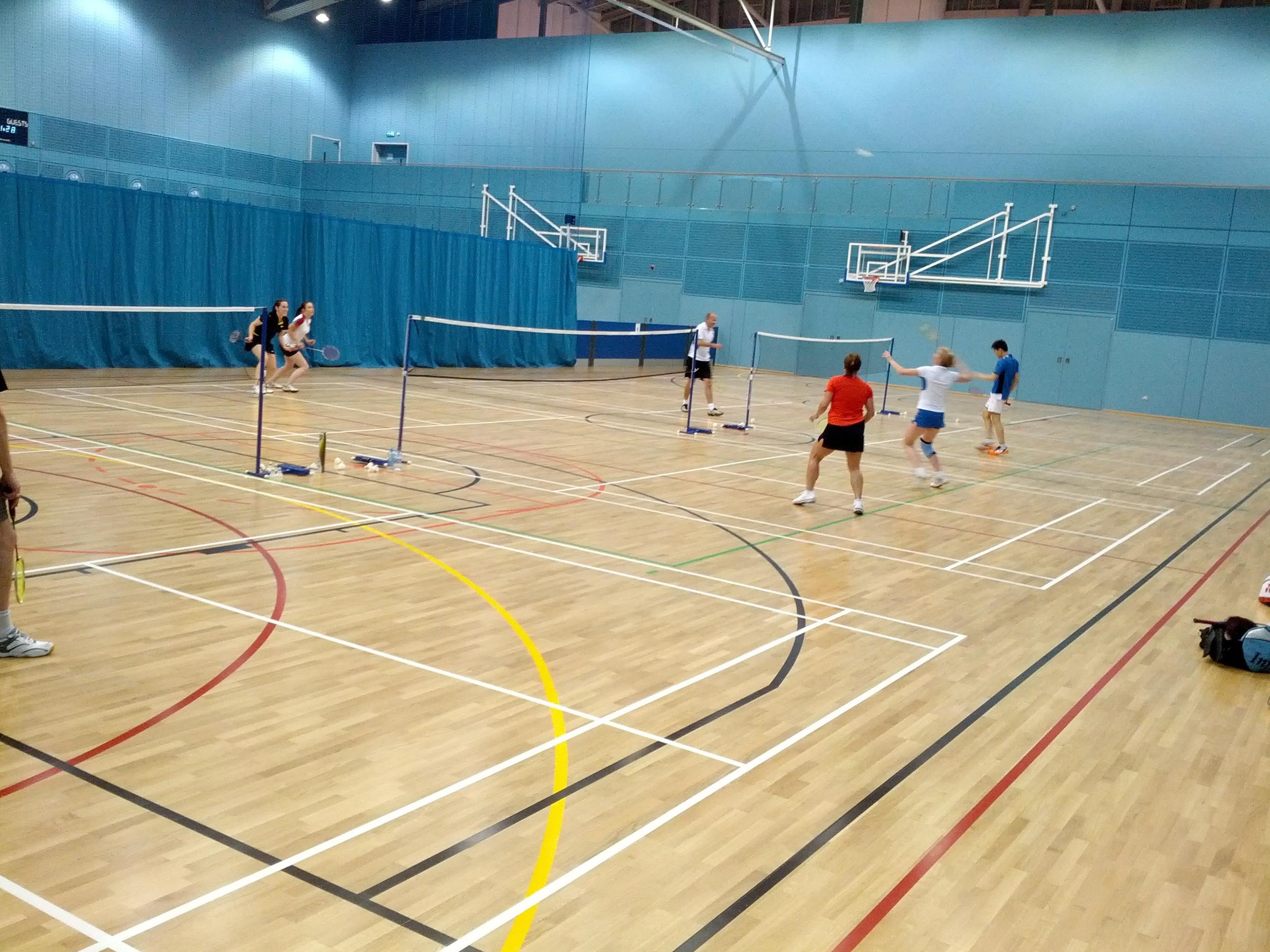 New University Sports Centre 2013