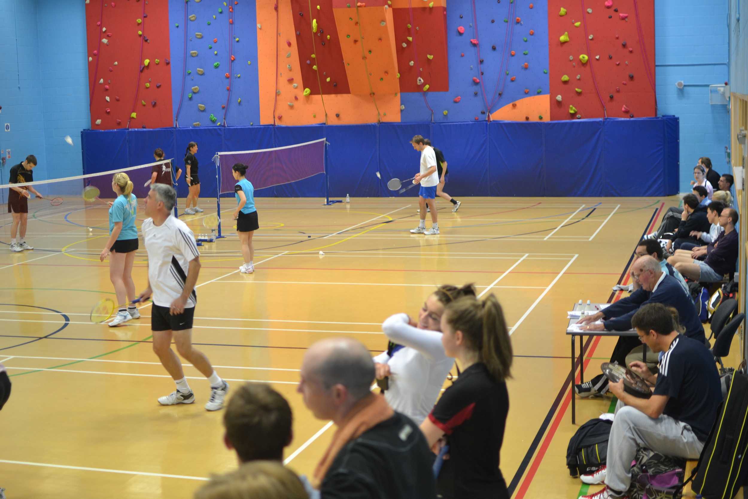 Players at the County Restricted