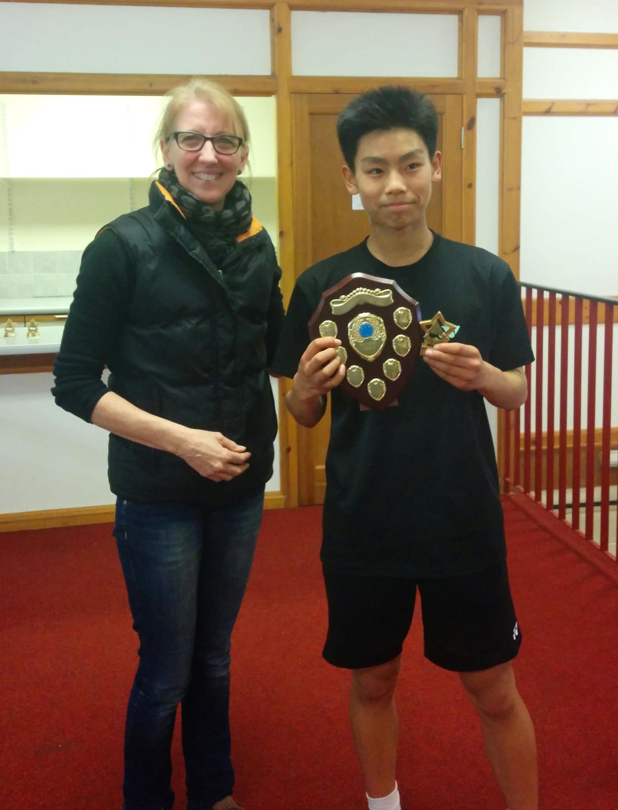 Harry Zhao: U19 Singles Winner