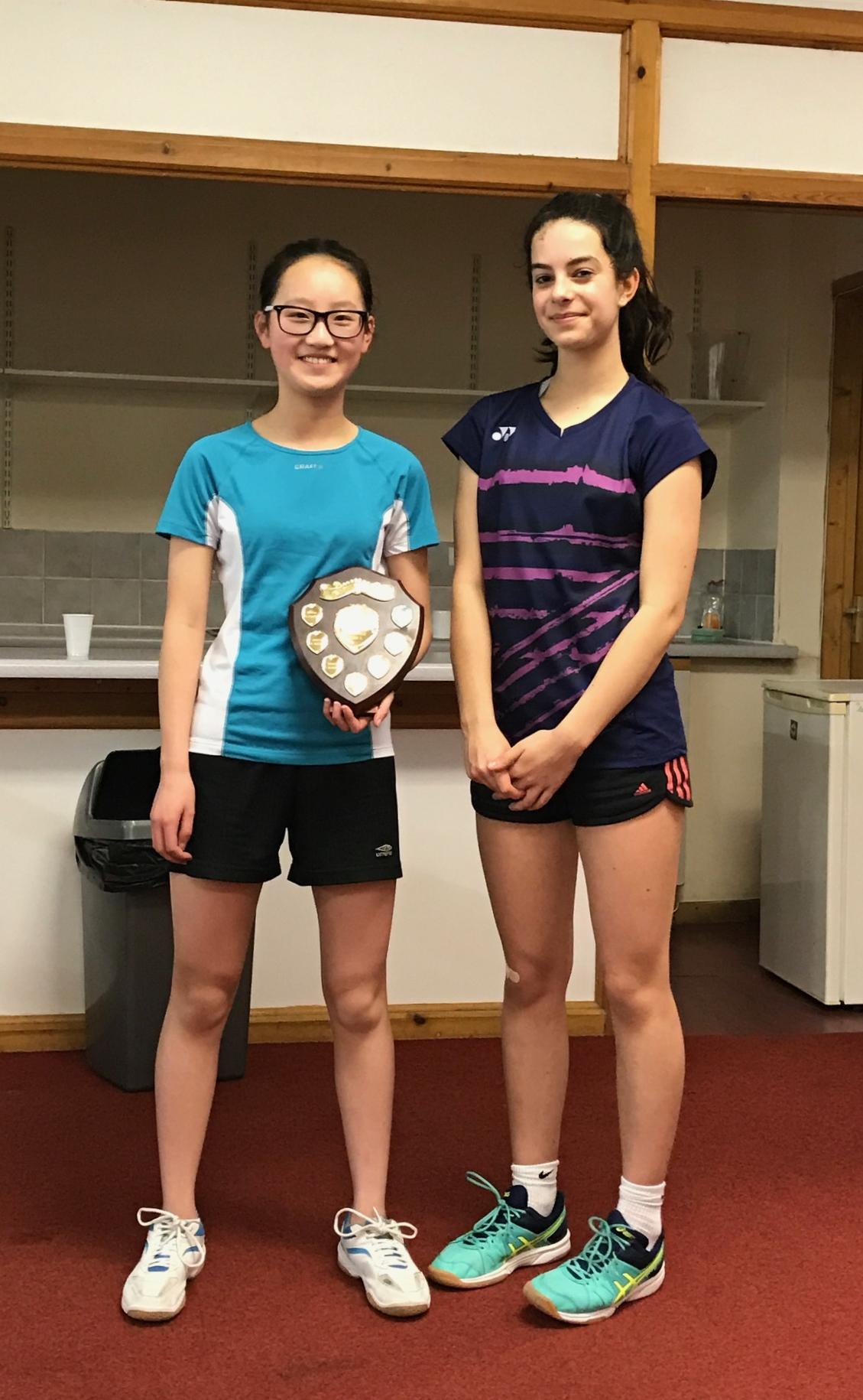 U16 GS finalists