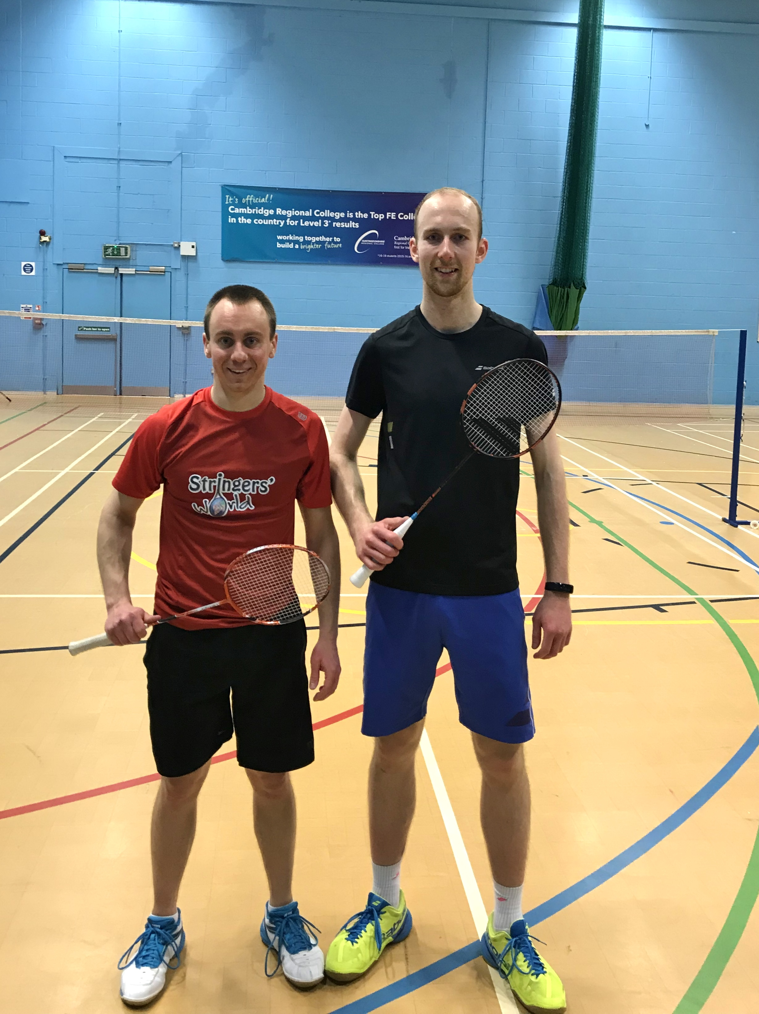 Mens Doubles Winners