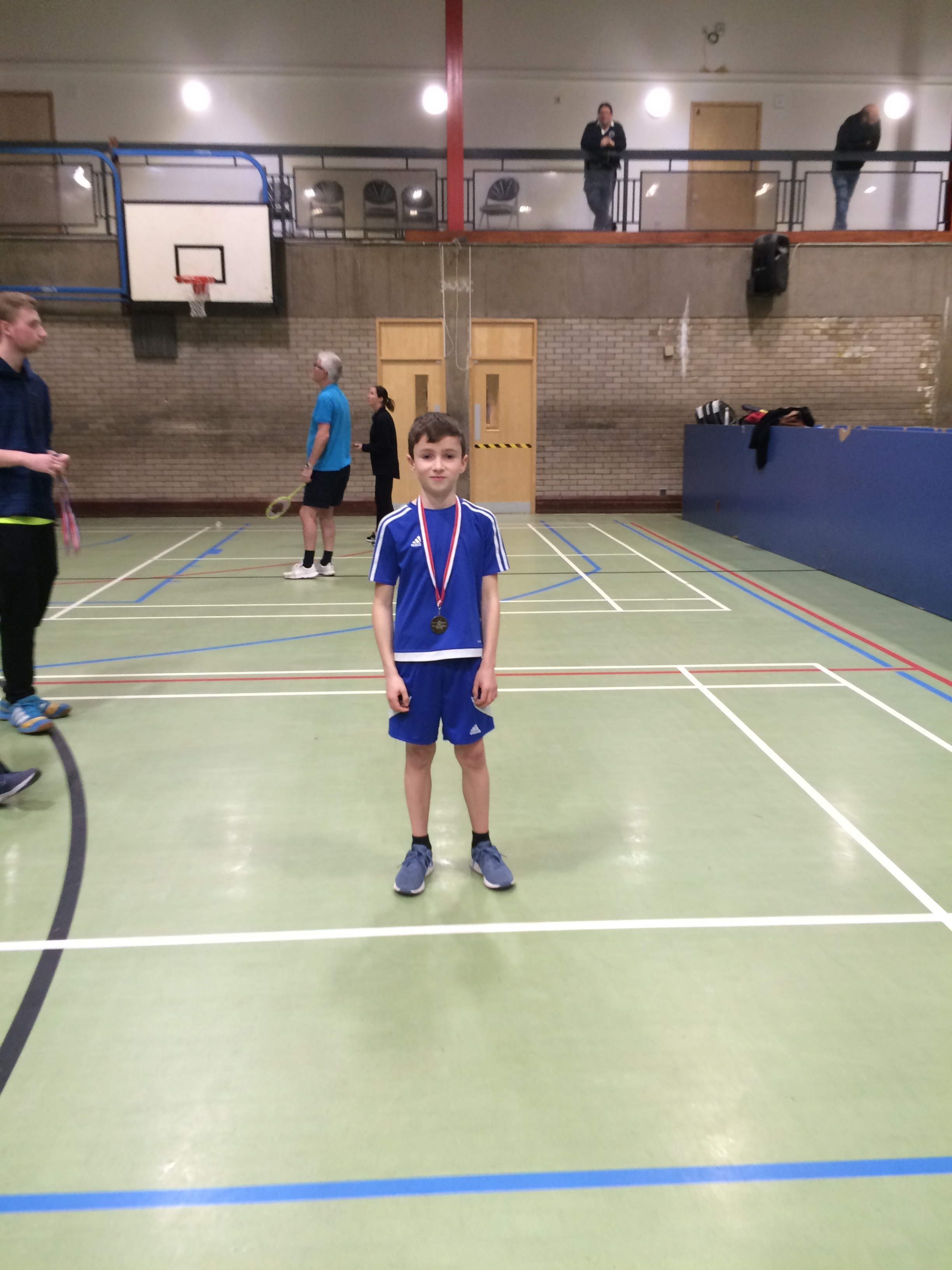 U11 boys winner: Owen Rylance
