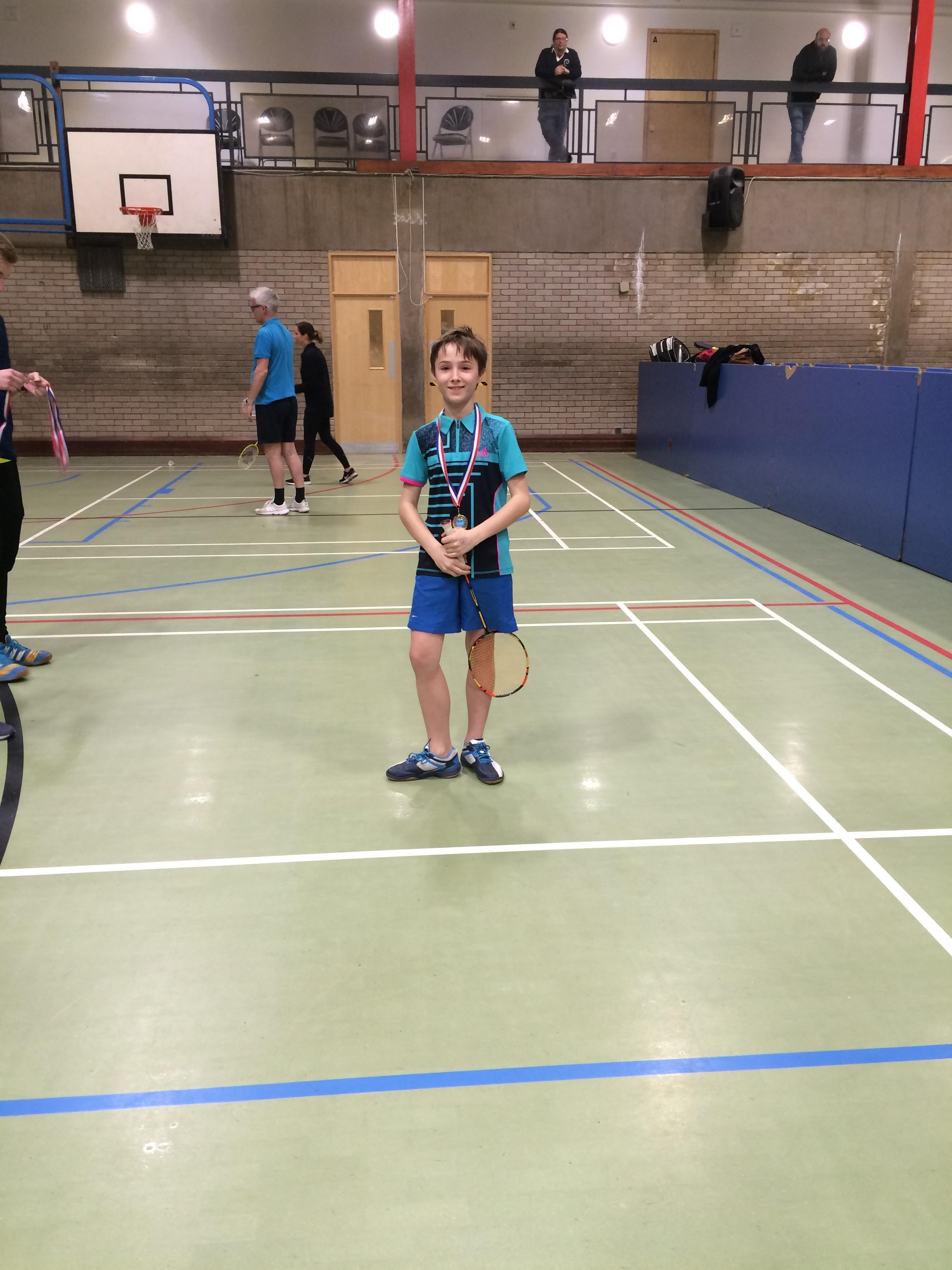 U13 boys winner: Nikita Larin