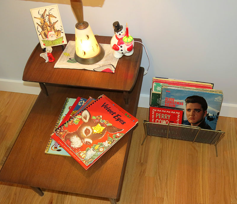 Vintage Christmas Records
