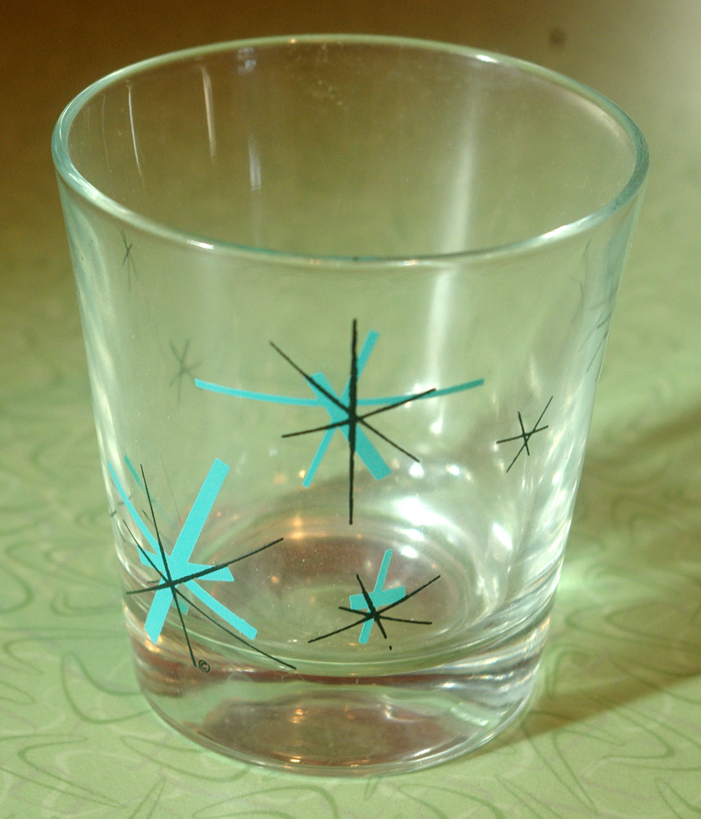 The glass that inspired the starbursts