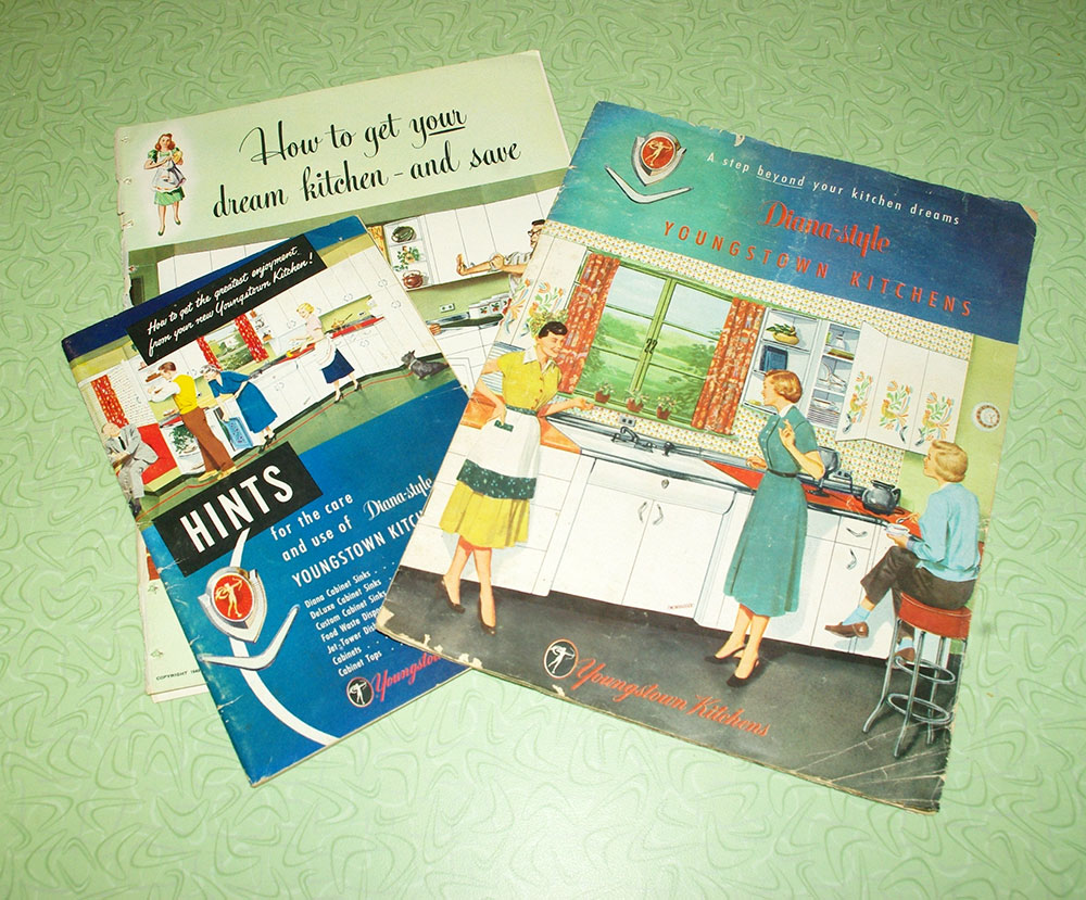 Some of our Youngstown Kitchen brochures