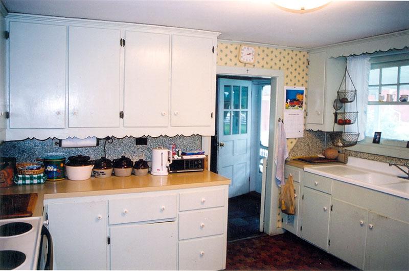 Grandma Connor's kitchen in Vermont.