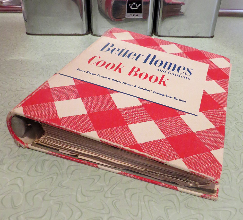 Better Homes and Gardens Cookbook, 1950 edition