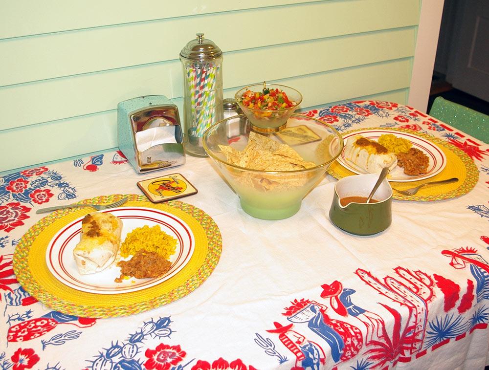 Our Cinco de Cuatro meal