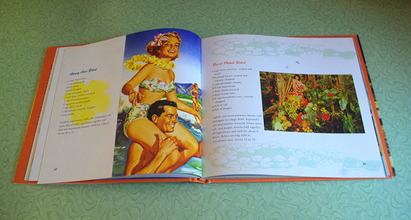This cookbook is full of fabulous photos and artwork, along with many wonderful recipes.